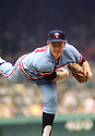 Minnesota Twins Bert Blyleven (28) in action during a game from the1973 season. Bert Blyleven played for 22 years with 4 different, was a 2-time All-Star and was inducted to the Baseball Hall of Fame in 2011.(SportPics)