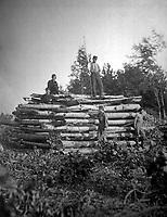 Signal Tower, Elk Mountain, overlooking Battle-field of Antietam.  September 1862.  Timothy O'Sullivan.  (War Dept.)<br /> Exact Date Shot Unknown<br /> NARA FILE #:  165-SB-22<br /> WAR & CONFLICT BOOK #:  226