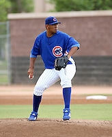 Larry Suarez / AZL Cubs pitching against the AZL Royals at Fitch Park, Mesa - 07/19/2008..Photo by:  Bill Mitchell/Four Seam Images