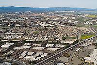 aerial photograph Milpitas, San Jose, Santa Clara county, California