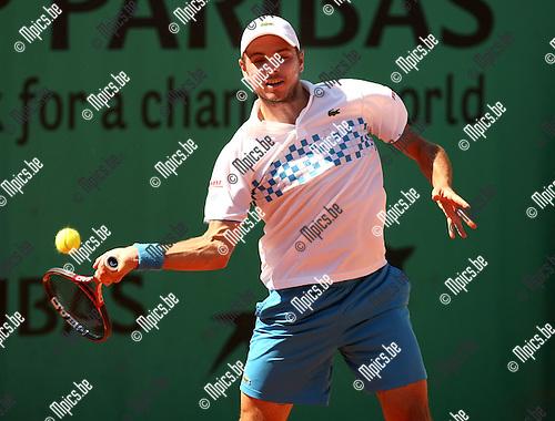 2010-05-24 / Tennis / Roland Garros 2010 / Day 2 /  Stanislas Wawrinka..Foto: mpics
