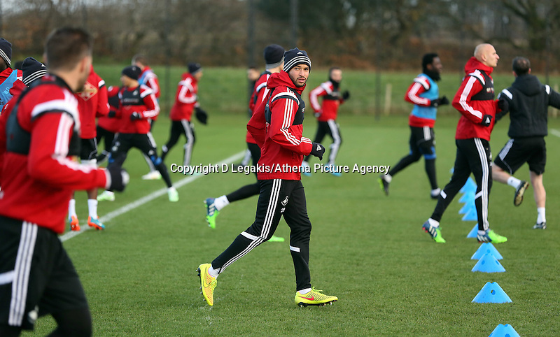 "Pictured: Ashley ""Jazz"" Richards (C) Wednesday 10 December 2014<br />