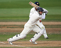 NZ's Ross Taylor bats during day four of the 3rd test between the New Zealand Black Caps and India at Allied Prime Basin Reserve, Wellington, New Zealand on Monday, 6 April 2009. Photo: Dave Lintott / lintottphoto.co.nz.