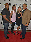 CORAL GABLES, FL - FEBRUARY 28: Wes Edmonds, Dale Edmonds, Karen Coppolo and Chris Coppolo attend the Miami Premiere of RatPac Documentary Films One Day Since Yesterday: Peter Bogdanovich and the Lost American Film' followed by Q&A at Miracle Theater inside the Actors Playhouse on February 28, 2017 in Coral Gables, Florida. ( Photo by Johnny Louis / jlnphotography.com )