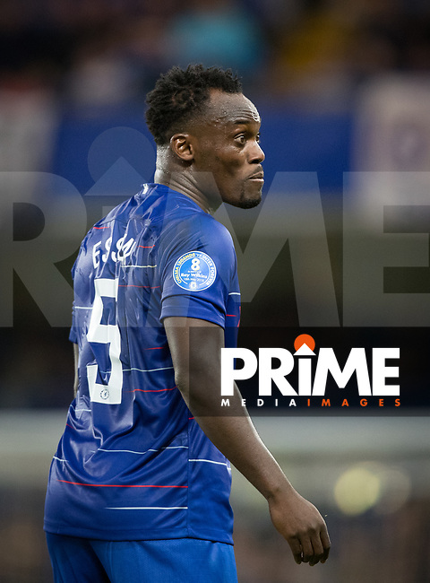 Michael Essien of Chelsea Legends during the Chelsea Legends v Inter Forever match in memory of Ray Wilkins with a donation from the Chelsea Foundation to be made to Crohn's & Colitis UK at Stamford Bridge, London, England on 18 May 2018. Photo by Andy Rowland.