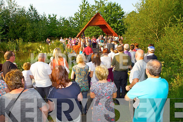 As part of the Celebration of Light, Recovery Haven held a special gathering last Monday across Kerry and West Limerick, pictured here was a group in Abbeyfeale town Park