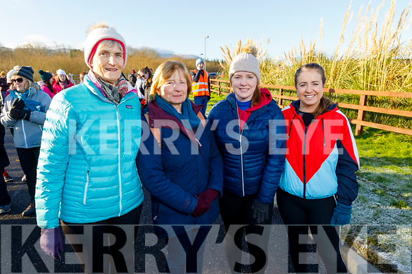 Rose Blackwell (Ardfert), Bernadette, Susan and Linda Brown (Fenit) at the Operation Transformation for the National Walk Day in the Wetlands on Saturday.