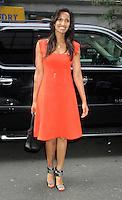 NEW YORK, NY - SEPTEMBER 6, 2012: Padma Lakshmi at Good Day New York in New York City. September 6, 2012. © RW/MediaPunch Inc. /NortePhoto.com<br /> <br /> **CREDITO*OBLIGATORIO** *No*Venta*A*Terceros*<br /> *No*Sale*So*third* ***No*Se*Permite*Hacer...<br /> more »