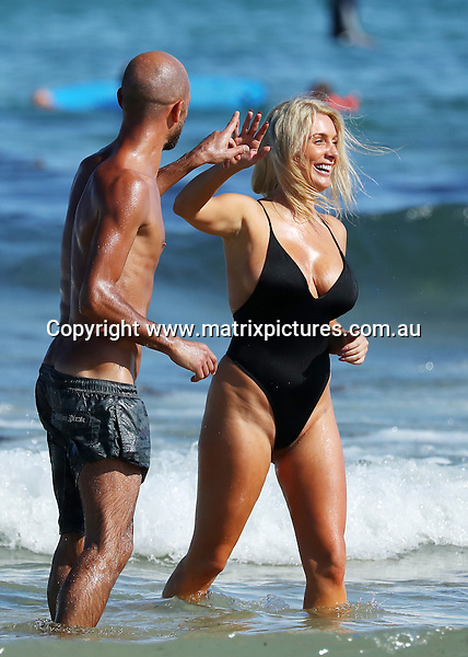 18 NOVEMBER 2016 SYDNEY AUSTRALIA<br /> WWW.MATRIXPICTURES.COM.AU<br /> <br /> EXCLUSIVE PICTURES <br /> <br /> Zilda Williams pictured at Bondi Beach enjoying an afternoon with a girlfriend. Zilda and her friend were chatted up by some amorous Brazillians fellows playing football on the beach. Zilda demonstrated some impressive ball skills and fancy footwork including 'heading' the ball and 'Bending it like Beckham'<br /> <br /> *No web without clearance*.<br /> <br /> MUST CALL PRIOR TO USE <br /> <br /> +61 2 9211-1088. <br /> <br /> Note: All editorial images subject to the following: For editorial use only. Additional clearance required for commercial, wireless, internet or promotional use.Images may not be altered or modified. Matrix Media Group makes no representations or warranties regarding names, trademarks or logos appearing in the images.