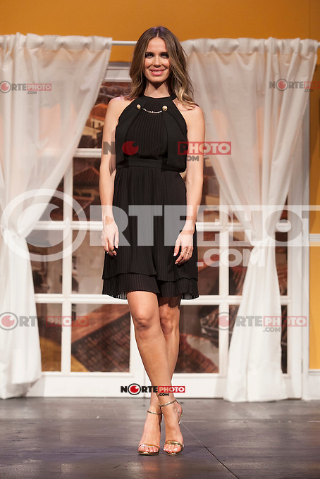 Actress Vanesa Romero poses for `El Clan de las Divorciadas´ theater play presentation in Madrid, Spain. August 19, 2015. (ALTERPHOTOS/Victor Blanco)