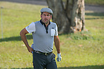 Robert Rock of England tees off the first hole during the 58th UBS Hong Kong Golf Open as part of the European Tour on 10 December 2016, at the Hong Kong Golf Club, Fanling, Hong Kong, China. Photo by Marcio Rodrigo Machado / Power Sport Images