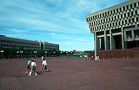 Boston:  City Hall and City Hall Plaza 1968.  Kallman, McKinnell & Knowles.  Photo '91.