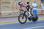 Carl Fredrik Hagen (NOR) Lotto-Soudal in action during Stage 1 of La Vuelta 2019, a team time trial running 13.4km from Salinas de Torrevieja to Torrevieja, Spain. 24th August 2019.<br /> Picture: Eoin Clarke | Cyclefile<br /> <br /> All photos usage must carry mandatory copyright credit (© Cyclefile | Eoin Clarke)