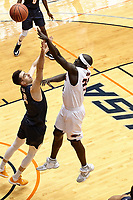 SAN ANTONIO, TX - JANUARY 18, 2020: The University of Texas at El Paso Miners fall to the University of Texas at San Antonio Roadrunners 86-70 at the Historic UTSA Convocation Center (Photo by Jeff Huehn).