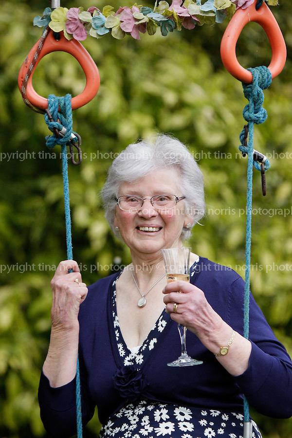 Bess Layton's 80th birthday celebration, Charlestown. 23 April 2011.