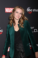 "LOS ANGELES - FEB 24:  Amy Acker at ""Marvel's Agents Of S.H.I.E.L.D."" 100th Episode Party at Ohm Nightclub on February 24, 2018 in Los Angeles, CA"