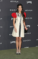 LOS ANGELES, CA - OCTOBER 29: Demi Moore attends the 2016 LACMA Art + Film Gala honoring Robert Irwin and Kathryn Bigelow presented by Gucci at LACMA on October 29, 2016 in Los Angeles, California. (Credit: Parisa Afsahi/MediaPunch).