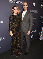 CULVER CITY, CA - NOVEMBER 11: Actress Sasha Alexander (L) and director Edoardo Ponti attend the 2017 Baby2Baby Gala at 3Labs on November 11, 2017 in Culver City, California.<br /> CAP/ROT/TM<br /> &copy;TM/ROT/Capital Pictures