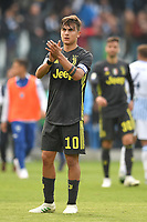 Paulo Dybala of Juventus waves the fans at the end of the match <br /> Ferrara 13-4-2019 Stadio Paolo Mazza Football Serie A 2018/2019 SPAL - Juventus <br /> Foto Andrea Staccioli / Insidefoto