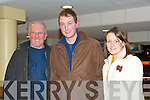 GOOD TIME: Enjoying a good time at the Kingdom Greyhound Stadium Night at the Dogs on Friday l-r: John and Berth Sheehy, Kilmoyley and Rosemarie McCarthy, Abbeydorney.