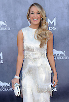LAS VEGAS, NV - APRIL 6:  Carrie Underwood at the 49th Annual Academy of Country Music Awards at the MGM Grand Garden Arena on April 6, 2014 in Las Vegas, Nevada.MPIPG/Starlitepics