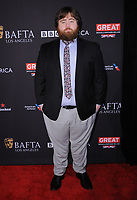 06 January 2018 - Beverly Hills, California - Paul Walter Hauser. 2018 BAFTA Tea Party held at The Four Seasons Los Angeles at Beverly Hills in Beverly Hills.    <br /> CAP/ADM/BT<br /> &copy;BT/ADM/Capital Pictures