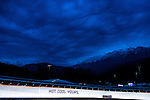 KRASNAYA POLYANA, RUSSIA  - JANUARY 17:<br /> Germany-1, with pilot Francesco Friedrich and brakeman Jannis Baecker, competes in the men's two-man bobsled at Sanki Sliding Center during the 2014 Sochi Olympics Monday February 17, 2014. The pair finished in eighth place with a time of 3:46.85. <br /> (Photo by Chris Detrick/The Salt Lake Tribune)