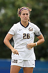 06 September 2015: California's Samantha Witteman. The Duke University Blue Devils hosted the University of California Bears at Koskinen Stadium in Durham, NC in a 2015 NCAA Division I Women's Soccer match. California won the game 3-1.
