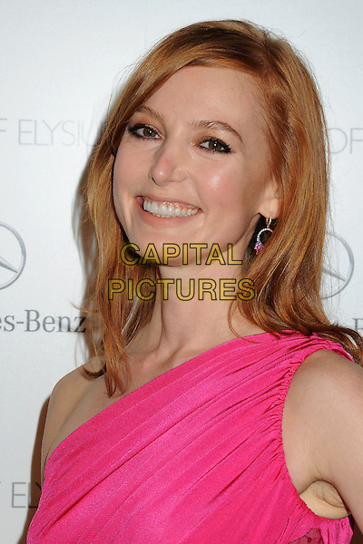 11 January 2014 - Los Angeles, California - Alicia Witt. 7th Annual Art of Elysium Heaven Gala held at the Skirball Cultural Center.  <br /> CAP/ADM/BP<br /> &copy;Byron Purvis/AdMedia/Capital Pictures