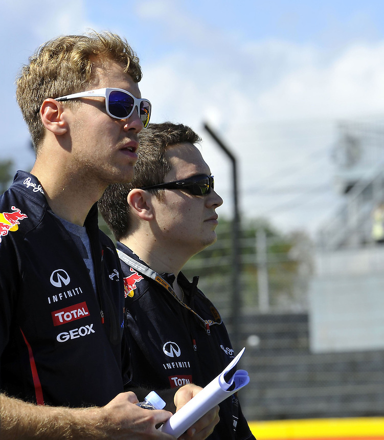.Sebastian Vettel (GER), Red Bull Racing..2012 FIA Formula One World Championship - Japanese Grand Prix - Suzuka Circuit - Suzuka - Japan - Thursday 4th October 2012...