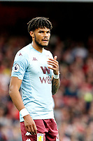 Tyrone Mings of Aston Villa seen during the Premier League match between Arsenal and Aston Villa at the Emirates Stadium, London, England on 22 September 2019. Photo by Carlton Myrie / PRiME Media Images.