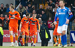 St Johnstone v Dundee United...11.02.12.. SPL.Milos Lacny celebrates his goal.Picture by Graeme Hart..Copyright Perthshire Picture Agency.Tel: 01738 623350  Mobile: 07990 594431