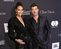 09 February 2019 - Beverly Hills, California - Robin Thicke, April Geary. The Recording Academy And Clive Davis' 2019 Pre-GRAMMY Gala held at the Beverly Hilton Hotel. Photo Credit: Birdie Thompson/AdMedia