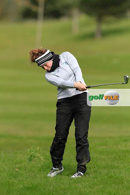 Shannon McWilliam (SCO) during Round 3 of The Irish Girls Open Strokeplay Championship in Roganstown Golf Club on Sunday 19th April 2015.<br /> Picture:  Thos Caffrey / www.golffile.ie