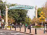 Redwood City, CA.  Arch.