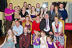Paul and Andrea King celebrate their 25th Wedding Anniversary in the Star and Crescent with family and friends..Picture: Shane Maguire / www.newsfile.ie