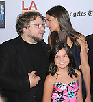 Guillermo del Toro, Bailee Madison and Katie Holmes Cruise at FilmDistrict L.a. Premiere of Don't Be Afraid of the Dark held at The Regal Cinemas L.A. Live Stadium 14 in Los Angeles, California on June 26,2011                                                                               © 2011 Hollywood Press Agency