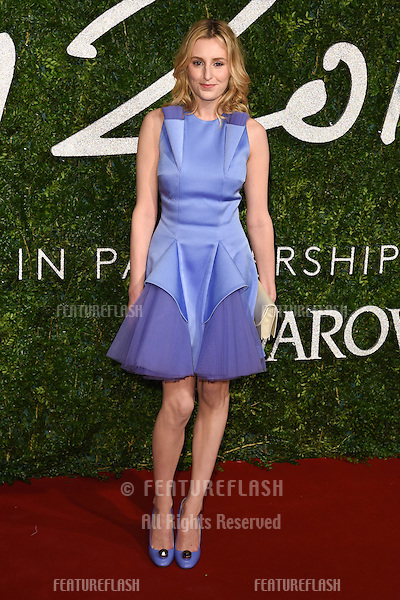 Laura Carmichael arrives for British Fashion Awards 2014 at the London Coliseum, Covent Garden, London. 01/12/2014 Picture by: Steve Vas / Featureflash