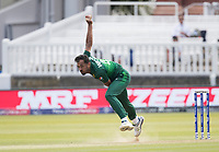 Wahab Riaz (Pakistan) in action during Pakistan vs Bangladesh, ICC World Cup Cricket at Lord's Cricket Ground on 5th July 2019