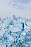 Chugach mountains, Meares glacier, Prince William Sound, Alaska