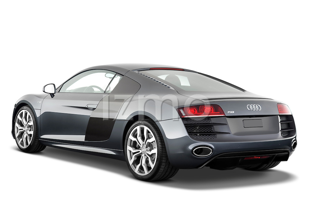 Rear three quarter view of a 2009 - 2012 Audi R8 V10 FSI Coupe.