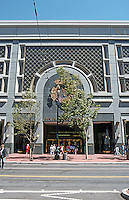 No. California: San Francisco, San Francisco Centre--Elevation.  Photo '89.