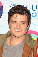 UNIVERSAL CITY, CA - JULY 22: Josh Hutcherson in the press room at the 2012 Teen Choice Awards at Gibson Amphitheatre on July 22, 2012 in Universal City, California. &copy; mpi28/MediaPunch Inc. /NortePhoto.com*<br />