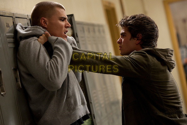 Chris Zylka & Andrew Garfiled.in The Amazing Spider-Man.*Filmstill - Editorial Use Only*.CAP/NFS.Supplied by Capital Pictures.