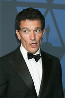 LOS ANGELES - OCT 27:  Antonio Banderas at the 11th Annual Governors Awards at the Dolby Theater on October 27, 2019 in Los Angeles, CA