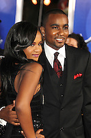 HOLLYWOOD, CA - AUGUST 16: Nick Gordon and Bobbi Kristina Brown at the 'Sparkle' film premiere at Grauman's Chinese Theatre on August 16, 2012 in Hollywood, California. ©mpi26/MediaPunch Inc. /NortePhoto.com<br /> <br /> **CREDITO*OBLIGATORIO** *No*Venta*A*Terceros*<br /> *No*Sale*So*third* ***No*Se*Permite*Hacer*Archivo***No*Sale*So*third*