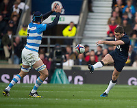 Twickenham, United Kingdom. George FORD, during the Old Mutual Wealth Series Rest Match: England vs Argentina, at the RFU Stadium, Twickenham, England, <br /> <br /> Saturday  26/11/2016<br /> <br /> [Mandatory Credit; Peter Spurrier/Intersport-images]