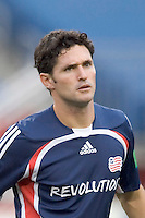 Jay Heaps. The New England Revolution defeat FC Dallas, 1-0, on June 28 at Gillette Stadium.