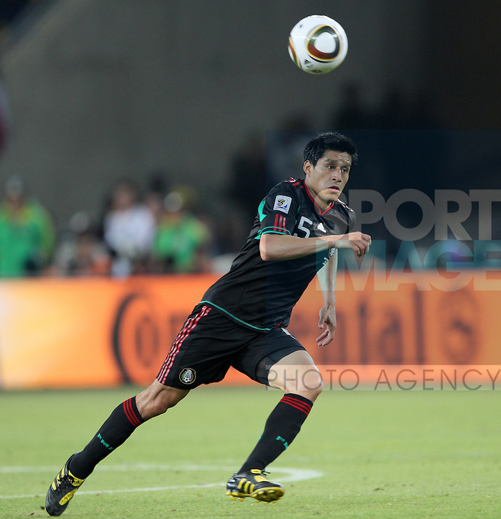 Mexico's Ricardo Osorio in action