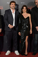 MADRID, SPAIN &ntilde; MARTCH 07: Javier Bardem and Penelope Cruz attend 'Loving Pablo' Premiere at Callao Cinema on March 7, 2018 in Madrid, Spain. <br /> ** NOT FOR SALE IN SPAIN**<br /> CAP/MPI/JOL<br /> &copy;JOL/MPI/Capital Pictures